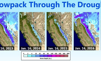 California's snowpack is good news for the parched state—for now