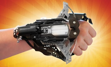 You Built What?!: A Compact Mechanical Crossbow With the Precision of a Laser
