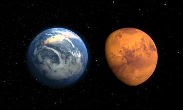 NASA's MAVEN Orbiter Celebrates One Year Around Mars