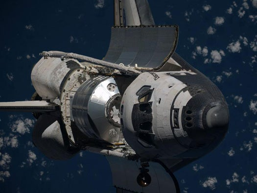 Discovery Swerves To Avoid Orbiting Space Junk