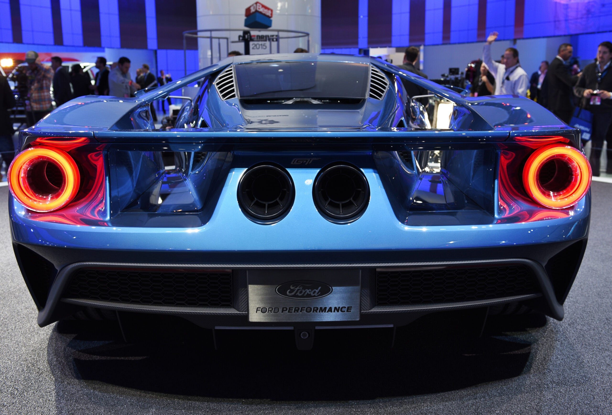 Back of Ford GT