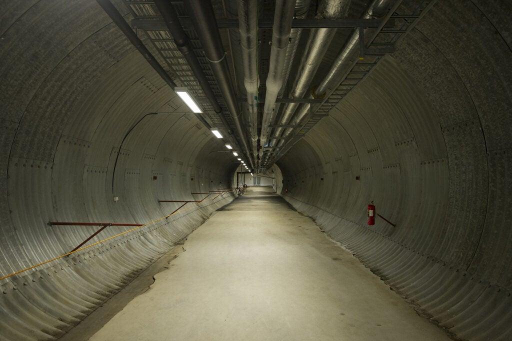 seed vault tunnel