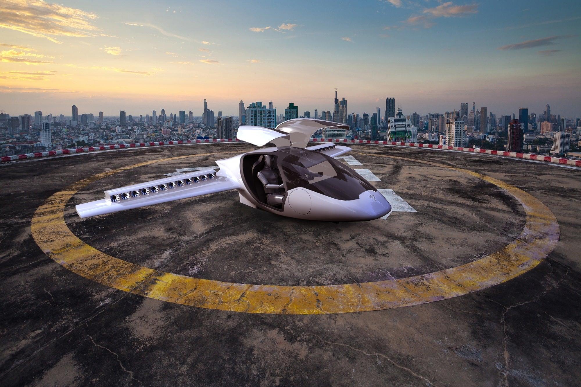 Lillium: The Private VTOL Plane Of A Quieter Future