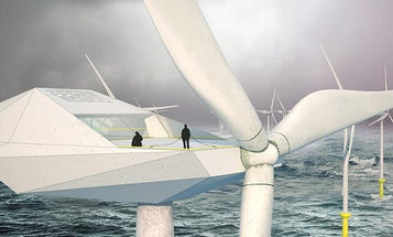 Awesome Future Job: Crew A Luxury Wind Turbine In The Middle Of The Ocean