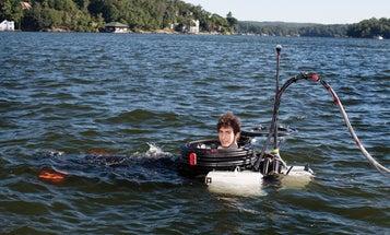 A DIY Submarine That Can Dive 30 Feet