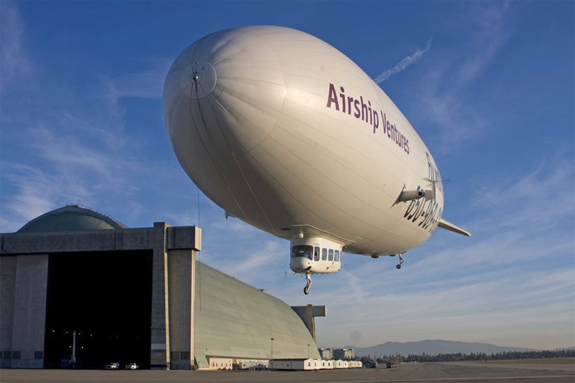 NASA and SETI Rent a Giant Zeppelin to Hunt for Meteorite Over Nevada