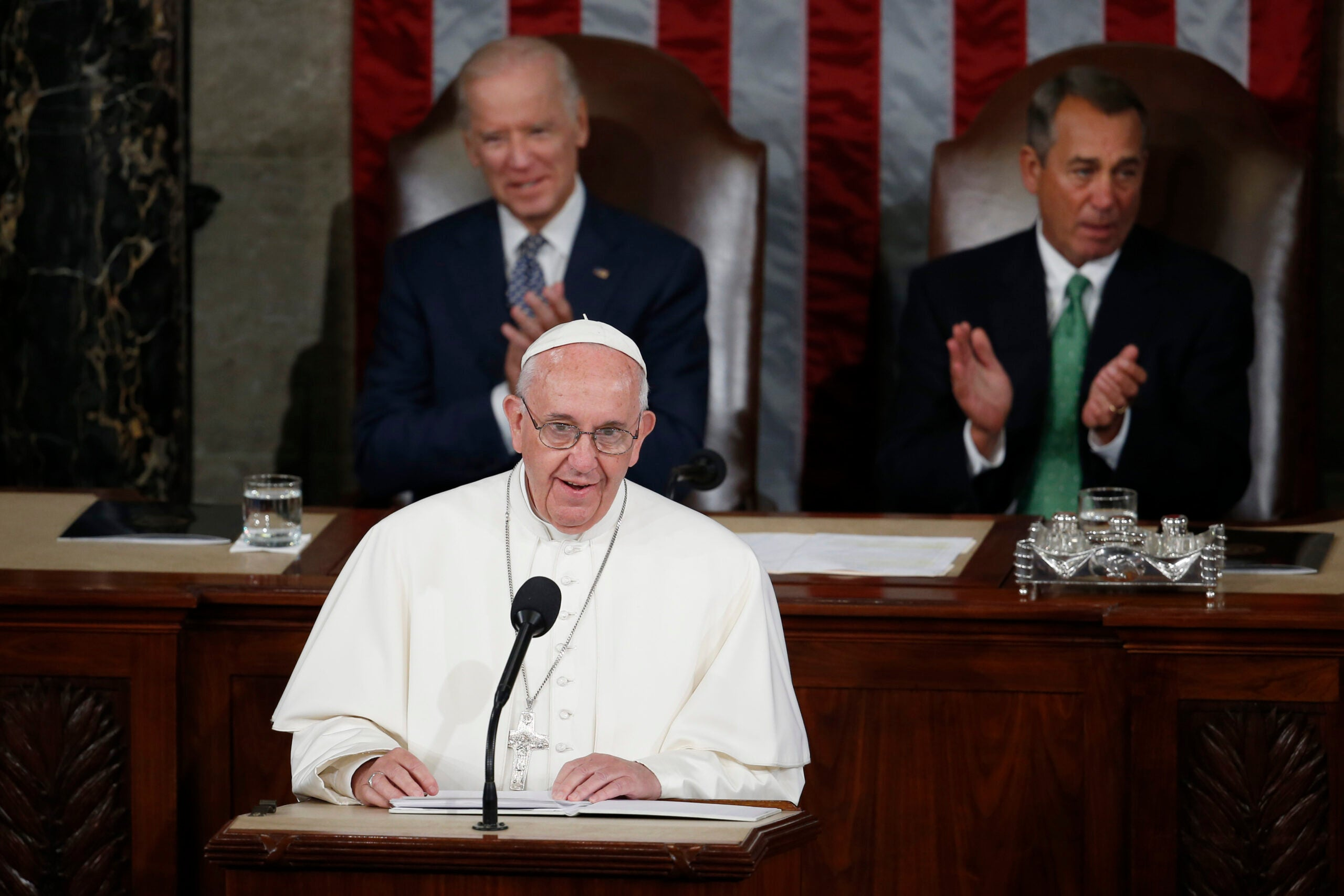 Pope Francis Says Tech Can Help Solve Climate Change In Address To Congress