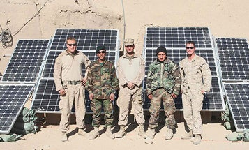 Marines in Afghanistan Find That Solar Panels Save Soldiers' Lives