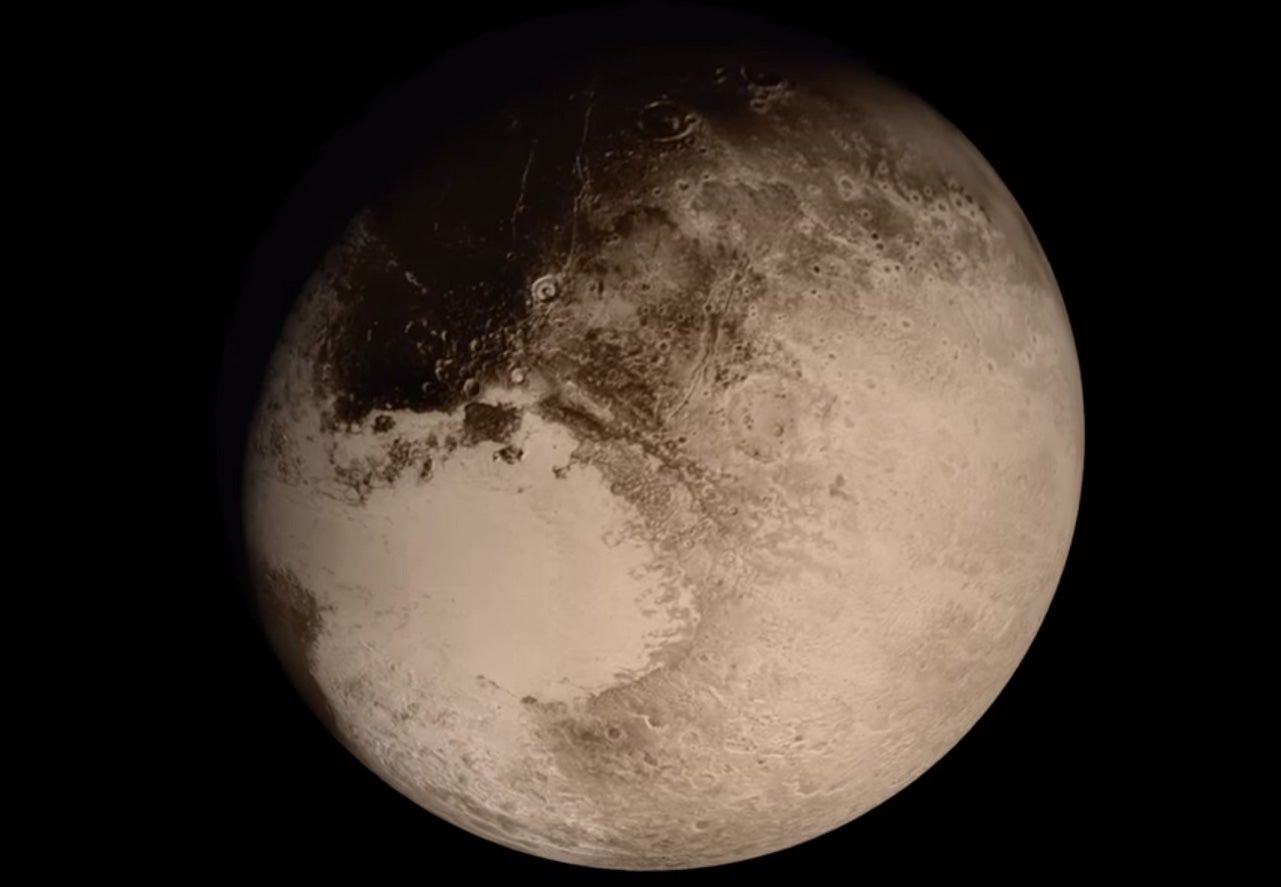 Fly By Pluto In This New NASA Video