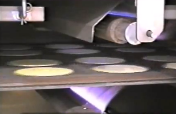 Industrial Food Machine Video of the Day: Toasting and Frying Taco Shells