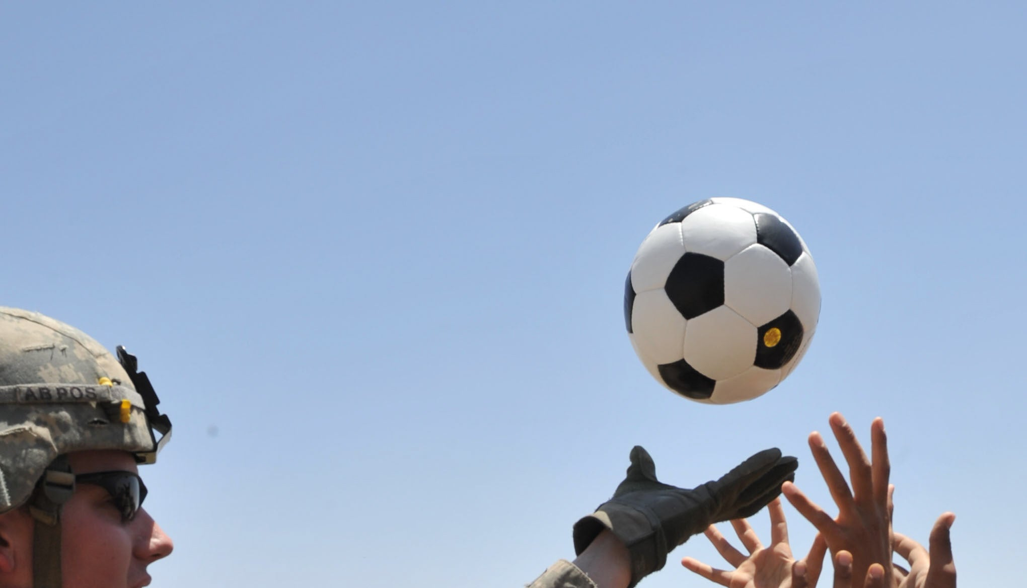 Watch This Soccer Ball Take Down A Drone