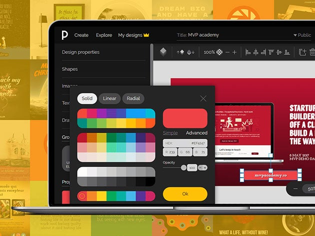 Create stunning designs in minutes with PixTeller Pro