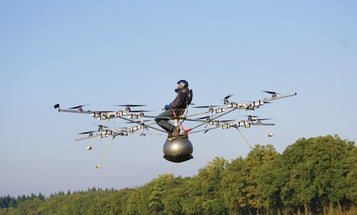 German Physicist Flies First Manned Electric Multicopter