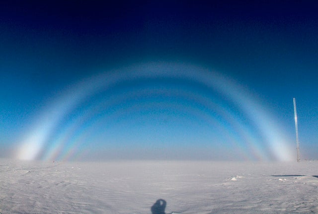 What the heck are white rainbows, and where do they come from?