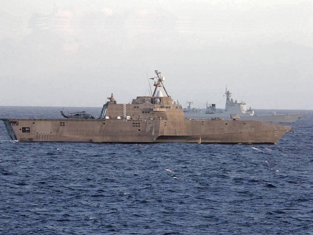 US and China Trade Naval Expertise at RIMPAC 2014 Wargames