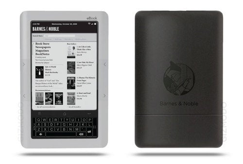 Leaked Barnes & Noble e-Reader is a Powerful Multitouch Hybrid