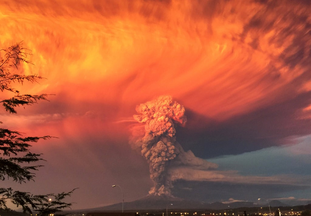 Volcano Eruptions, A Pocket Shark, And Other Amazing Images Of The Week