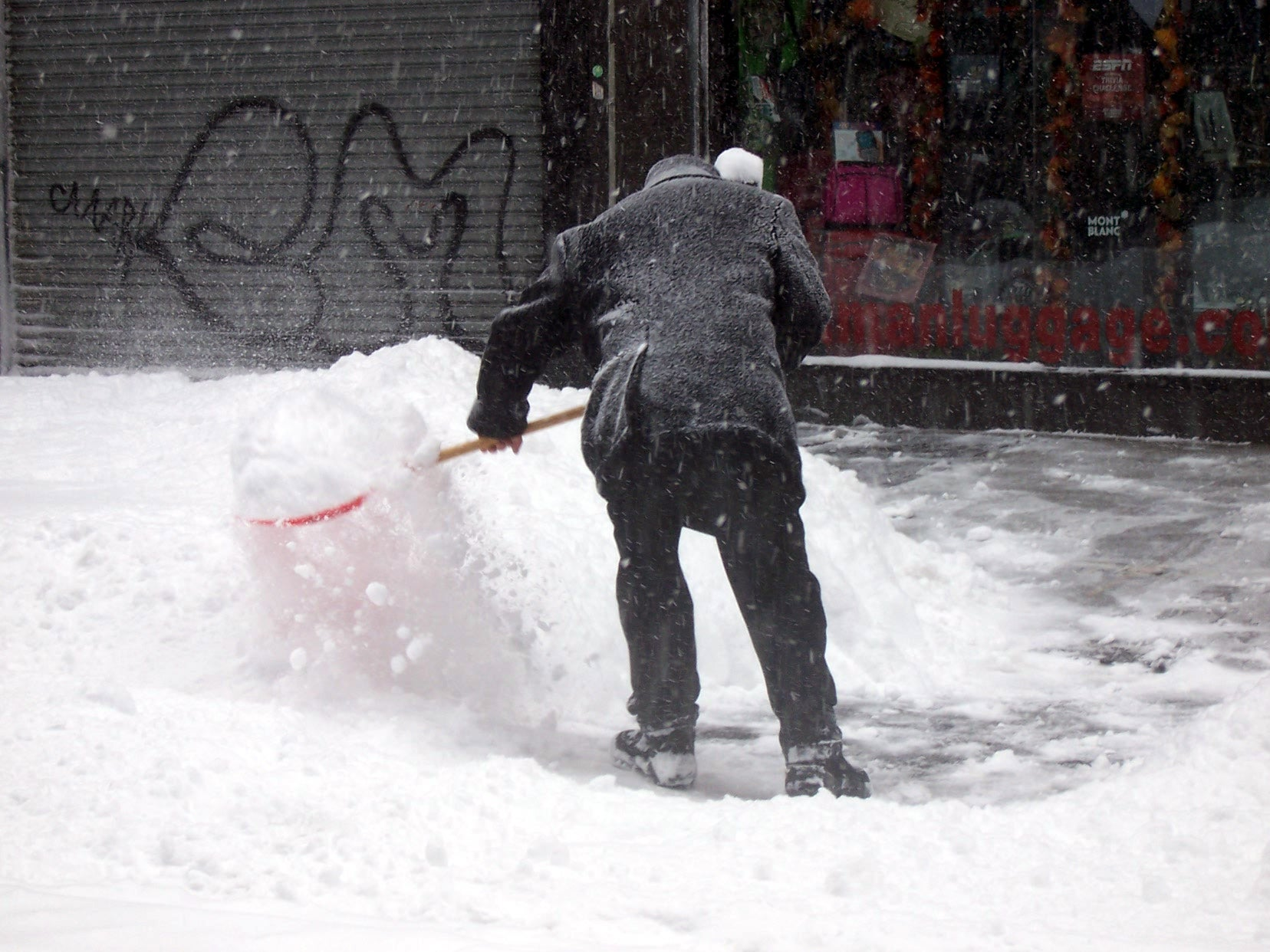 Life And Death During Blizzards