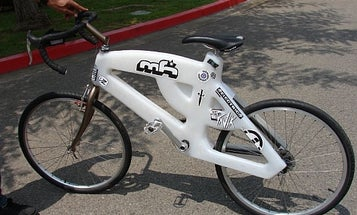 A Plastic Bicycle