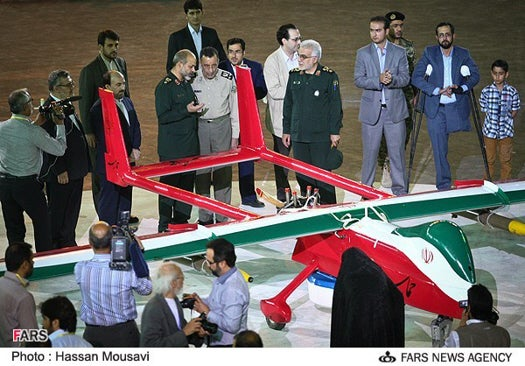 Iran Unveils Absurd New Stealth Drone
