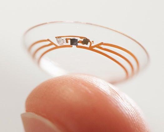 Google Developing Smart Contact Lenses To Help Diabetics