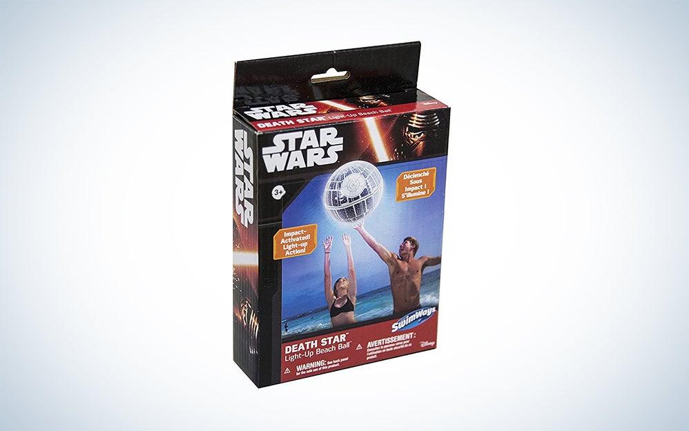 Death Star Light-Up Beach Ball