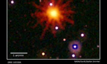 Unprecedented Cosmic Explosion Spawns an Intergalactic Mystery