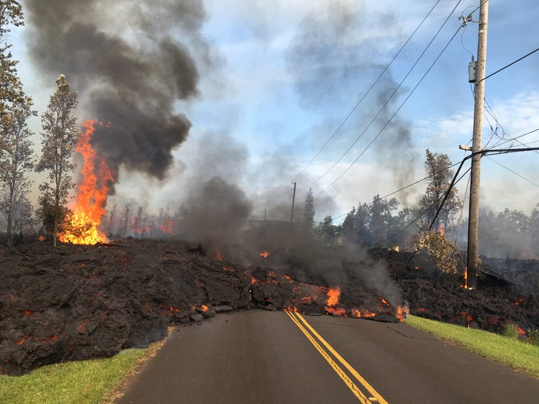 This is what it takes for scientists to get you those amazing pictures of the Kilauea eruption