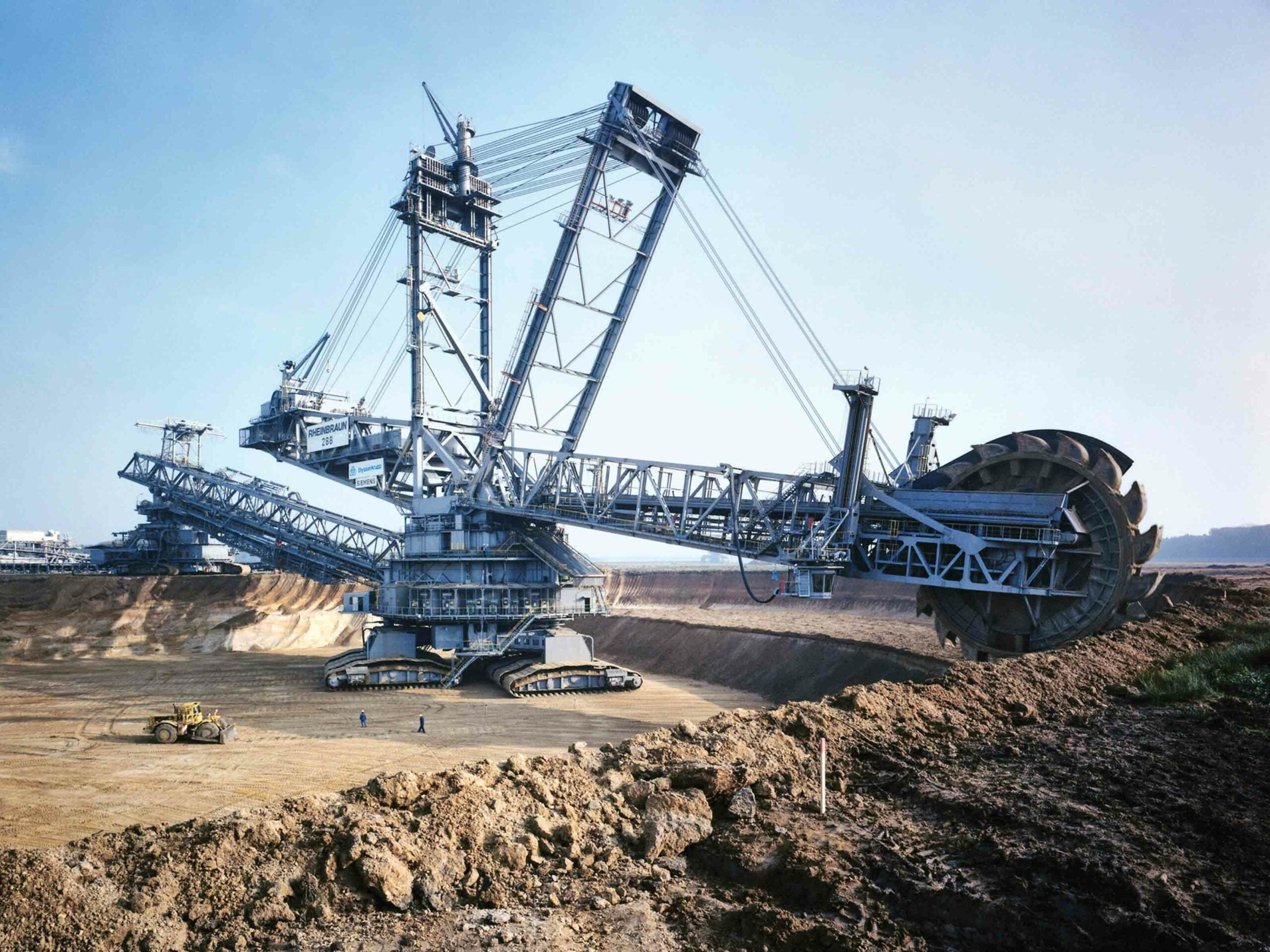 This excavator is one of the largest land vehicles on Earth