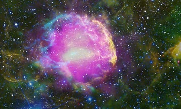Maybe Alien Life Runs On Cosmic Rays Instead Of Sunlight