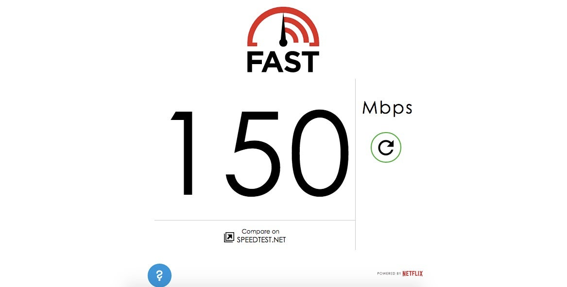 Netflix Now Has A Speed Test Site