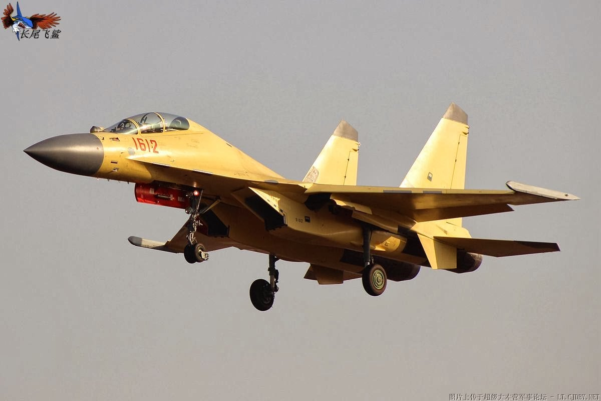 Chinese Air Force Takes Delivery of New J-16 Strike Fighters
