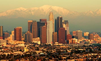 How does Los Angeles get its water?