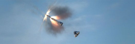 First Test of Orion Escape Vehicle Goes off 'Like Clockwork'
