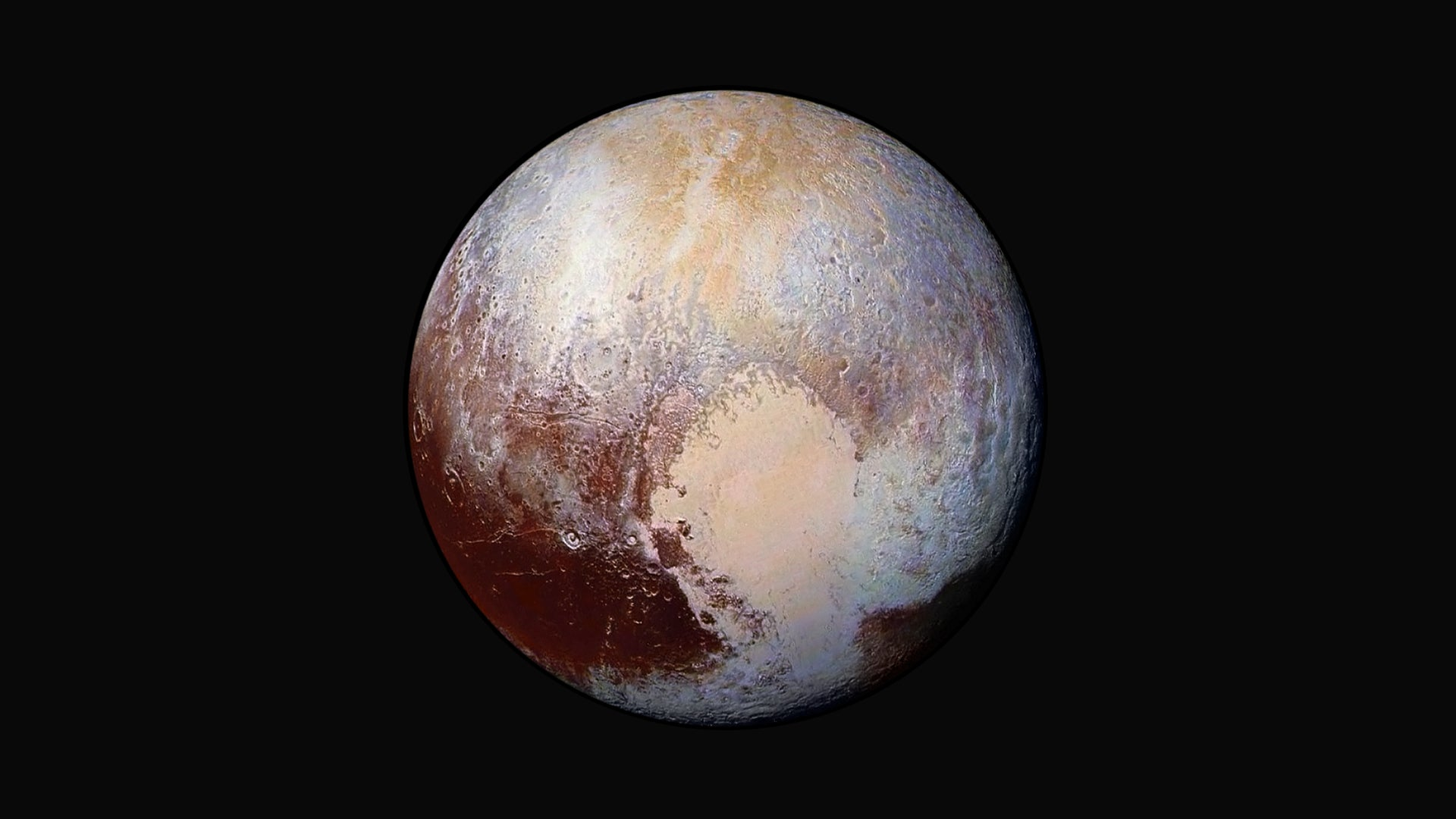 Pluto may be made up of a billion comets