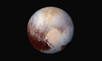 Pluto's frozen heart may hide an ocean inside