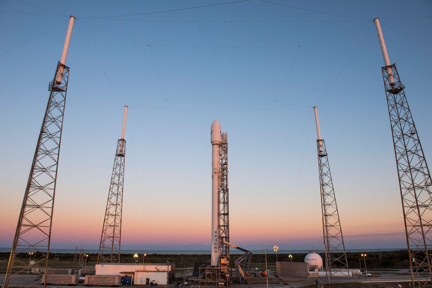 Next SpaceX Launch Tentatively Rescheduled For Friday