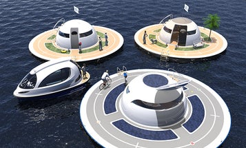 """""""Unidentified Floating Object"""" Is A Seaborne Suburb Of The Future"""