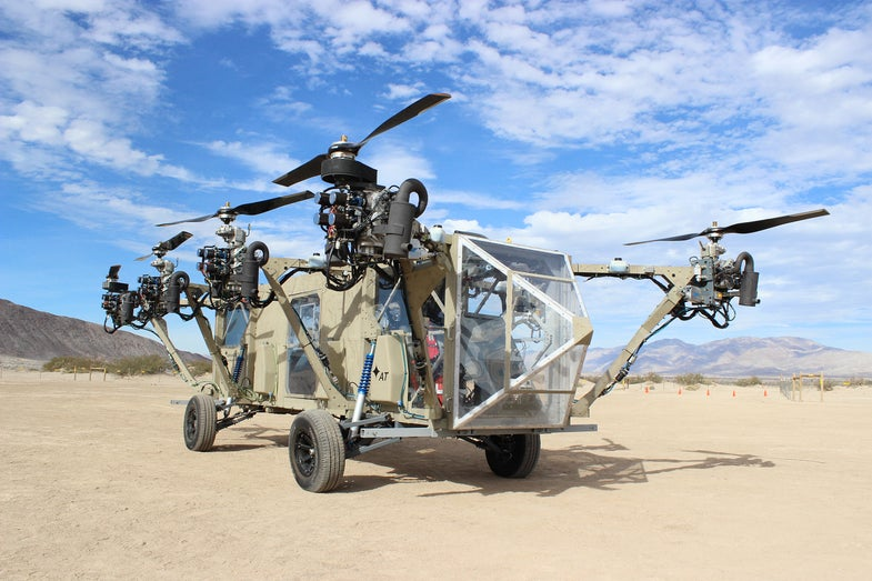 The Week In Drones: A Military Transformer, An App For Aerial Photos, And More