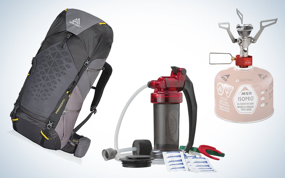 Water purifiers, camping stoves, and other gear