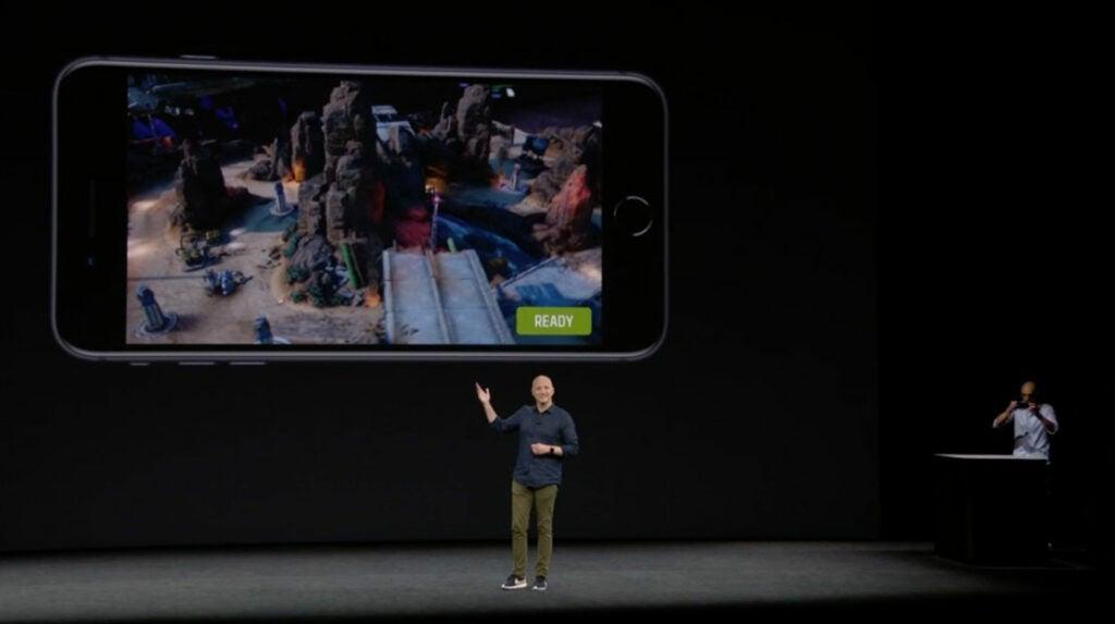 The Machines iPhone 8 Demo