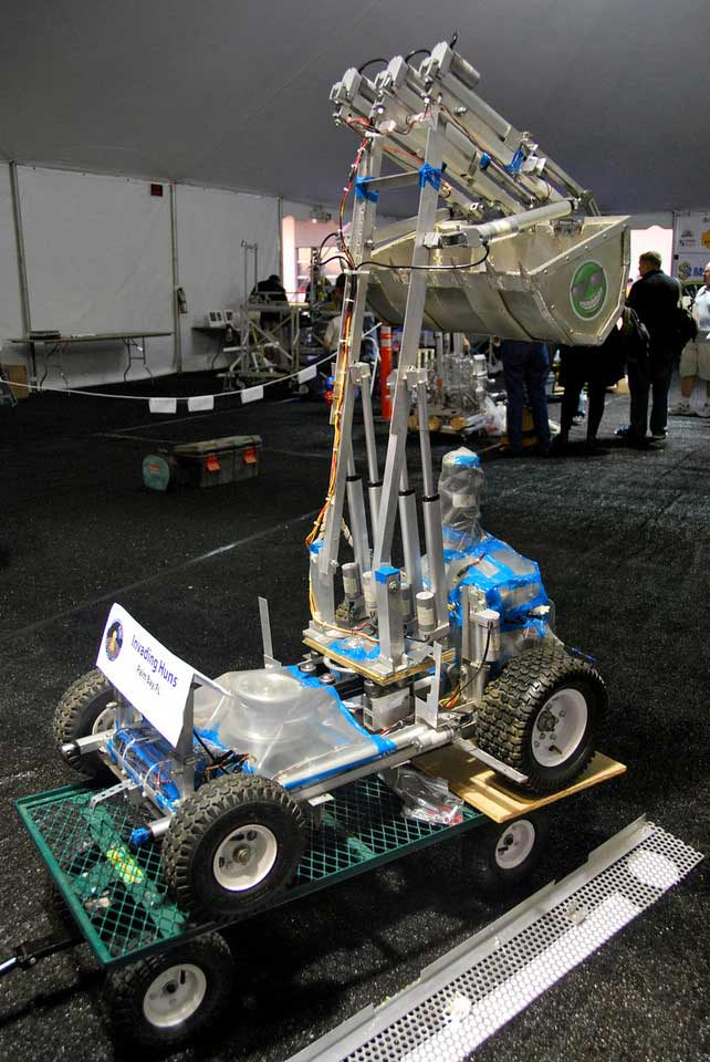 Lunar Digging Bots Roll Away with $750,000 in Prizes