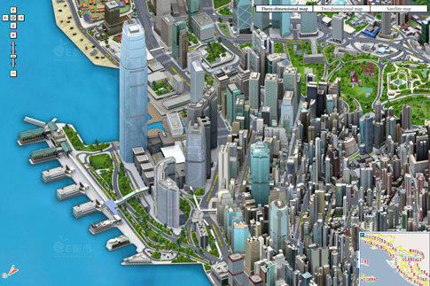 Edushi's 3-D Pixel-Art Maps of Chinese Cities Put Google Maps to Shame