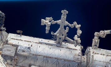 Dextre, the Space Station's Robotic Arm, Will Try its Hand at Satellite Refueling