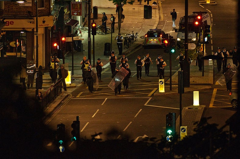 London Cops are Testing out Facial Recognition Tech to Identify Rioters