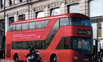 Sleekly Redesigned Double-Decker Buses Coming to London in 2012