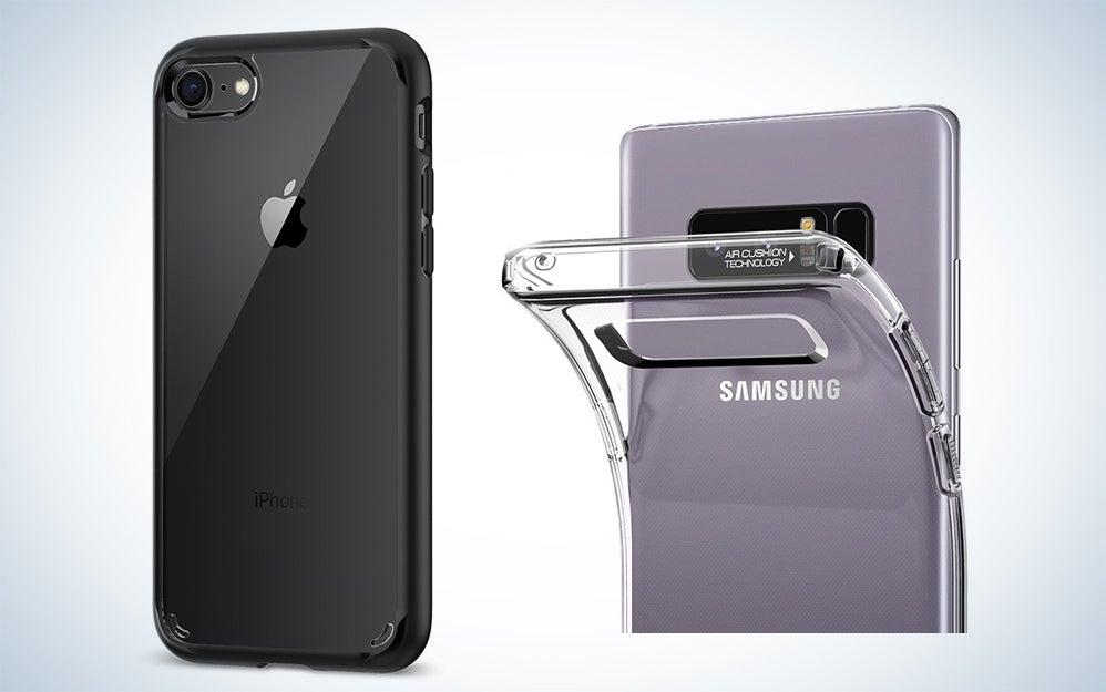 Flexible soft smartphone cases
