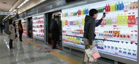 Video: Virtual Grocery Lets Koreans Browse Grocery Aisles While Waiting for the Subway