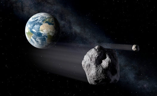 How it Would Work: Destroying an Incoming Killer Asteroid With a Nuclear Blast