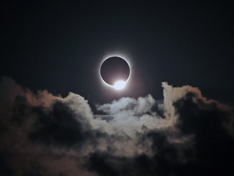 When you watch the eclipse, keep an eye out for diamonds in the sky